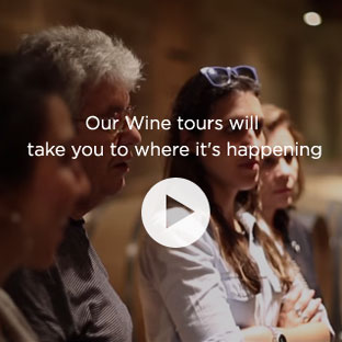 Our Wine tours will take you to where it's happening