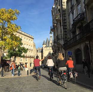 Bicycle rally Bordeaux